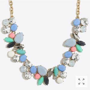 JCrew Colorful Statement Necklace NWT
